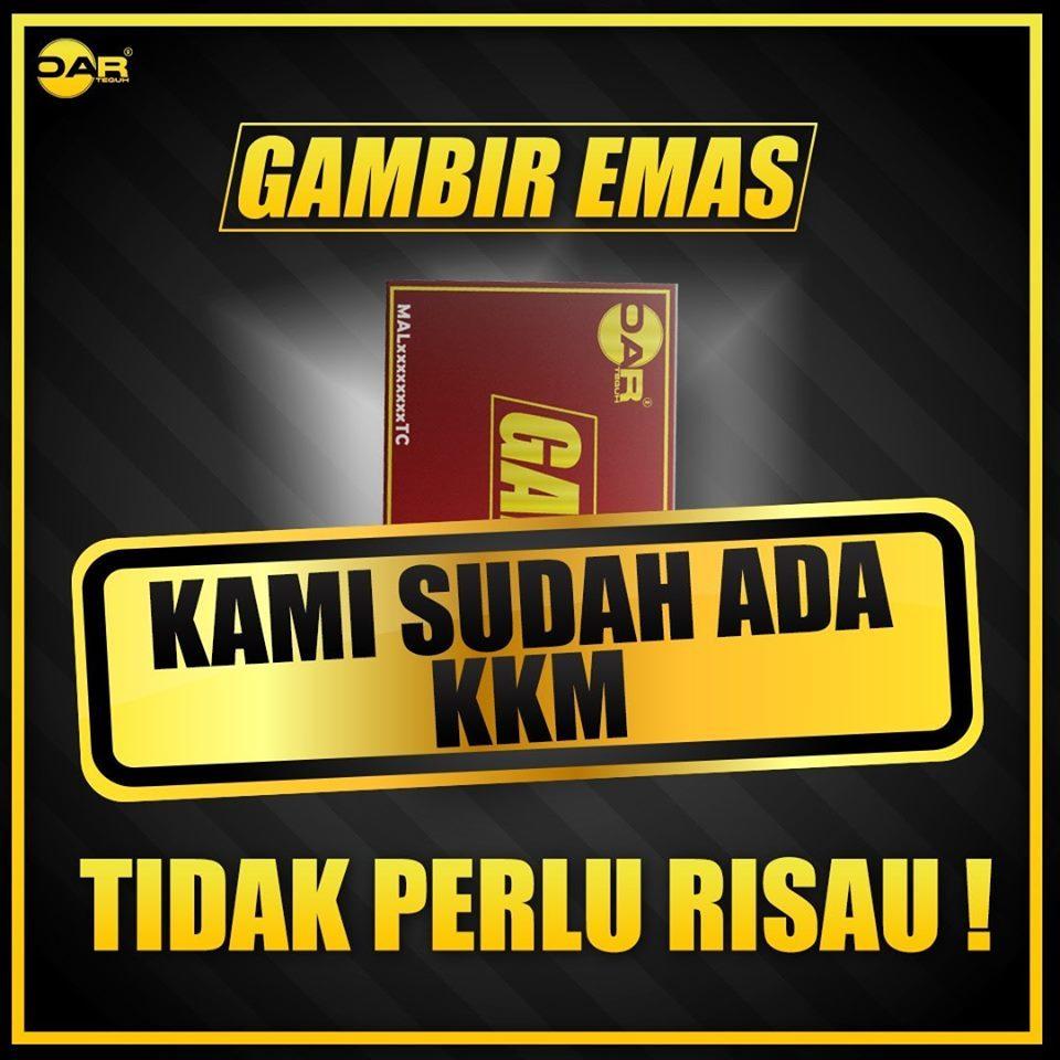 gambir emas KKM